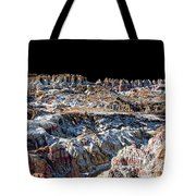 Paint Mines Iv-a Time Of Division Tote Bag
