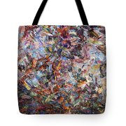 Paint Number 42 Tote Bag