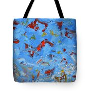 Paint Number 47 Tote Bag by James W Johnson