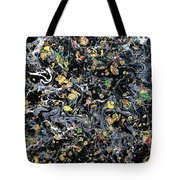 Paint Number Eleven Tote Bag