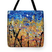Paint Number Fifteen Tote Bag