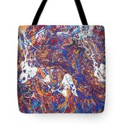 Paint Number Five Tote Bag