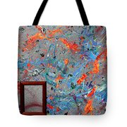 Paint Number Forty Tote Bag