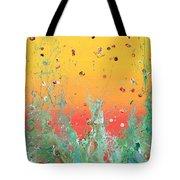 Paint Number Ninteen Diptych Tote Bag