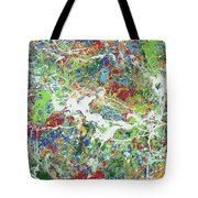 Paint Number Sixteen Tote Bag