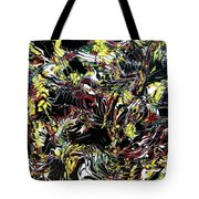 Paint Number Thirteen Tote Bag