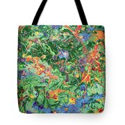 Paint Number Twenty Three Tote Bag