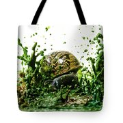 Paint Sculpture And Snail 3 Tote Bag