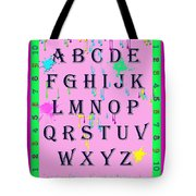 Paint Spattered Primary Learning Tote Bag