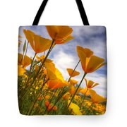 Paint The Desert With Poppies  Tote Bag