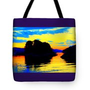 Painting The High Sky And The Deep Sea  Tote Bag