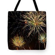 Paint The Sky With Fireworks  Tote Bag