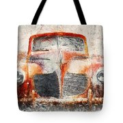 Painted 1940 Desoto Deluxe Tote Bag