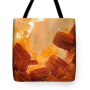 Painted Background Texture Tote Bag