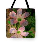 Painted Beauty Tote Bag