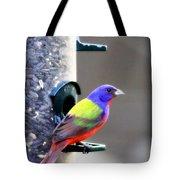 Painted Bunting - Img_9756-004 Tote Bag