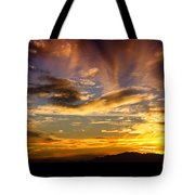 Painted By Mother Nature  Tote Bag