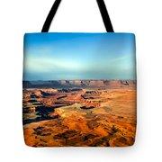 Painted Canyonland Tote Bag