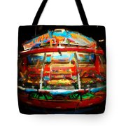 Painted Casino Tote Bag