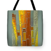 Painted City - Fantasy Cityscape Tote Bag