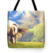 Painted Colours Tote Bag