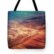 Painted Earth Tote Bag