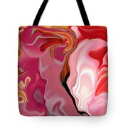 Painted Face's Tote Bag