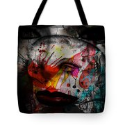 Painted Faces Success Races  Tote Bag