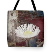 Painted Flower Tote Bag