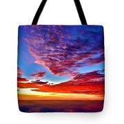 Painted Heavens Tote Bag