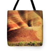 Painted Hills And Grassland Tote Bag