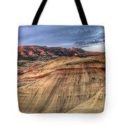 Painted Hills In Oregon Panorama Tote Bag