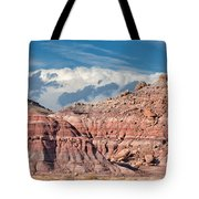 Painted Hills Of The Upper Jurrasic Tote Bag