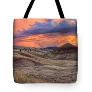 Painted Hills Sunset Tote Bag