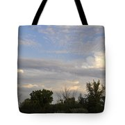 Painted Landscape Tote Bag