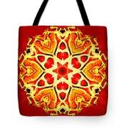 Painted Lotus Xi Tote Bag