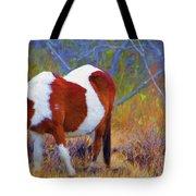 Painted Marsh Mare Tote Bag