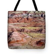 Painted Mounds Tote Bag