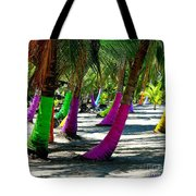 Painted Palms Tote Bag