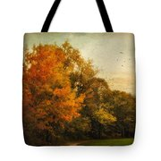 Painted Path Tote Bag