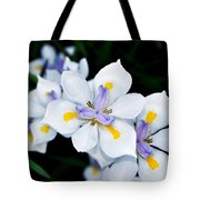 Painted Petals Tote Bag