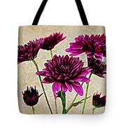 Painted Pink Bouquet Tote Bag