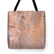 Painted Pink Concrete Tote Bag