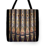 Painted Pipes Tote Bag