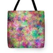 Painted Pixels Tote Bag