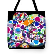 Painted Puppies Tote Bag
