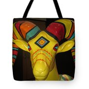 Painted Ram Tote Bag