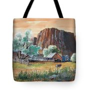 Painted Ranch Tote Bag