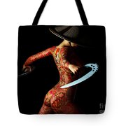 Painted Risks 2 Tote Bag