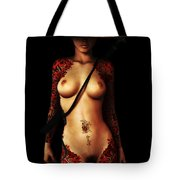 Painted Risks Tote Bag by Alexander Butler